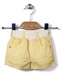 Little Denim Store Shorts - Yellow