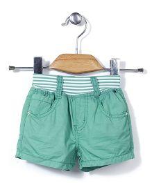 Little Denim Store Shorts - Green