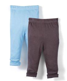 Dreamcatcher Set Of 2 Pants - Blue & Brown