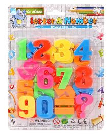 Playmate Magnetic Numbers - Multicolor
