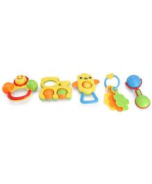 Playmate Rattle Set - 5 Pieces