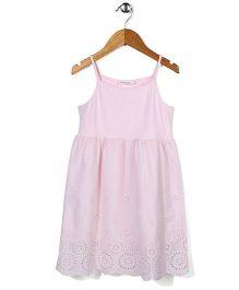 El Hogares Floral Print Dress - Pink
