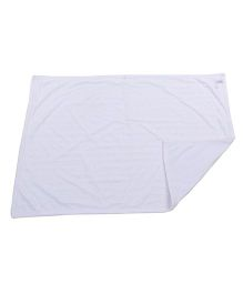 Rock A Bye Baby Star Print Blanket - White