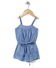 Candy Rush Singlet Jumpsuit - Blue