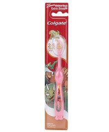Colgate Smiles Extra Soft Toothbrush Dino Print - Pink