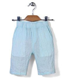 Candy Hearts Casual Shorts - Aqua Blue