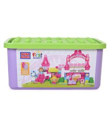 Mega Bloks Princess Tub Town - Blue
