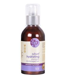 Omved Hydrating Shampoo For Dry & Frizzy Hair Chemical Free - 100 ml