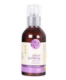 Omved Brahmi And Peppermint Purifying Shampoo - 100 ml