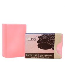 Omved Kamalika Blossom Bath Bar Lotus Vetiver - 125 gm