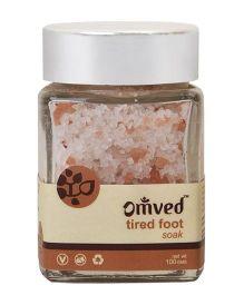 Omved Peppermint & Lemon Tired Foot Soak - 100 gm