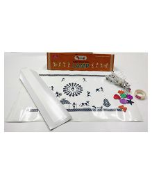 Cocomoco Warli Art Lamp Making Kit DIY Activity