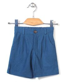Candy Rush Casual Shorts - Blue