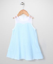 Candy Hearts Attractive Dress - Sky Blue