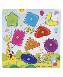Shape Puzzle Set - Multi Color