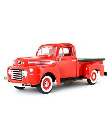 Road Signature 1948 Ford F-1 Pick up With Flatbed Cover - Red