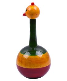 Playthings Wooden Rocking Bird - Multi Coloe