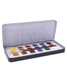 Camel Artists' Water Color Cakes - 18 Shades