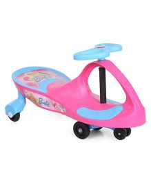 Barbie Tiara Swing Car - Pink And Blue
