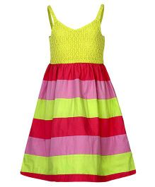Bells and Whistles Singlet Party Dress - Multicolour