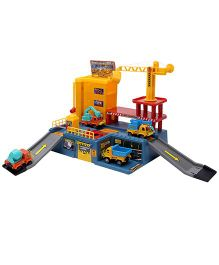 Parking Lot Car Play Set Yellow - Pack Of 3 Vehicles
