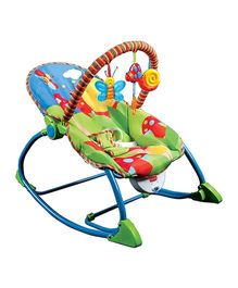 Luvlap Butterfly Toddler Rocker Multi Color - 18201