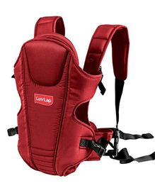 Luv Lap 2 Way Baby Carrier Galaxy Red - 18202