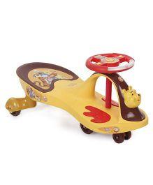 Toyzone Winnie the Pooh Magic Twister Car Dlx Yellow - 51343