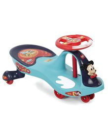 Toyzone Mickey Mouse Magic Twister Car Dlx Aqua Blue - 51329