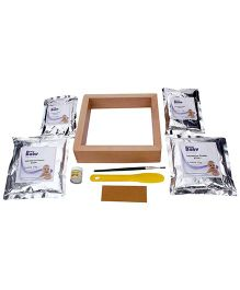 Woww Baby 3D Casting Kit With Frame And Color - Silver