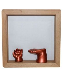 Woww Baby 3 D Casting Kit With Frame And Color - Bronze