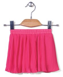 Candy Hearts Stylish Skirt - Pink