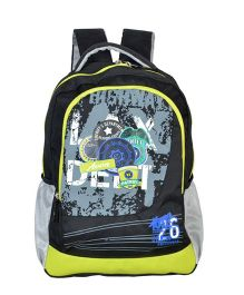 Avon Bags Highway Patrol Waterproof School Backpack Black And Green - 18 inches