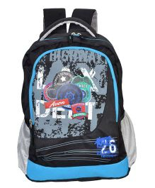 Avon Bags Highway Patrol Waterproof School Backpack Blue And Black - 18 Inches
