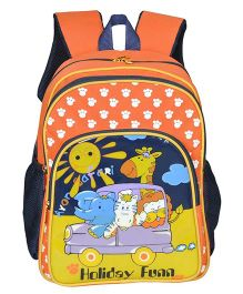 Avon Bags Holiday Fun School Backpack Orange - 14 inches