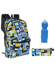 Avon Bags Sohopak Digi-Multi Color 15 Litres Backpack Combo - Set of 3