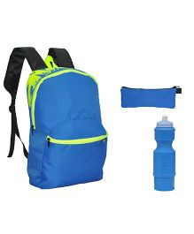 Avon Bags Skypak Royal Blue 15 Litres Backpack Combo - Set of 3