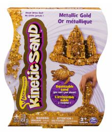 Wacky Tivities Kinetic Metallic Sand - Gold