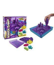 Wacky Tivities Kinetic Sand Box And Molds Set - Purple