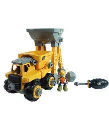 CAT Work Site Machines - Yellow