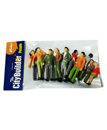 The City Builder People Multicolor - Pack of 10