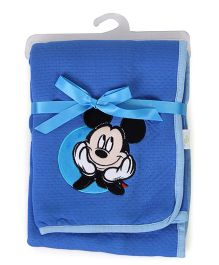 Disney International Mickey Mouse Modal Blanket - Blue