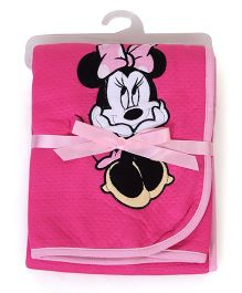 Disney International Minnie Mouse Modal Blanket - Pink