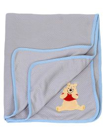 Disney International Winnie The Pooh Modal Blankets - Grey