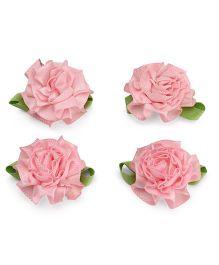 Stol'n Velcro Hair Clips Pack of 4 - Light Pink