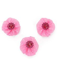 Stol'n Velcro Hair Clips Pack of 3 - Pink