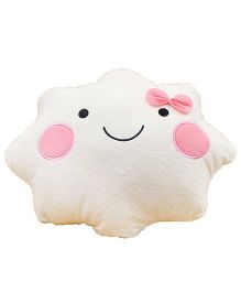 Stybuzz Cloud Cushion - Pink And White