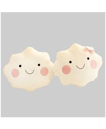Stybuzz Cloud Couple Cushions - Set of 2