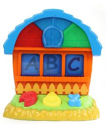 Fab N Funky Baby Musical House Shaped Toy - Orange & Blue