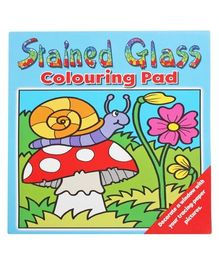 Stained Glass Colouring Pad